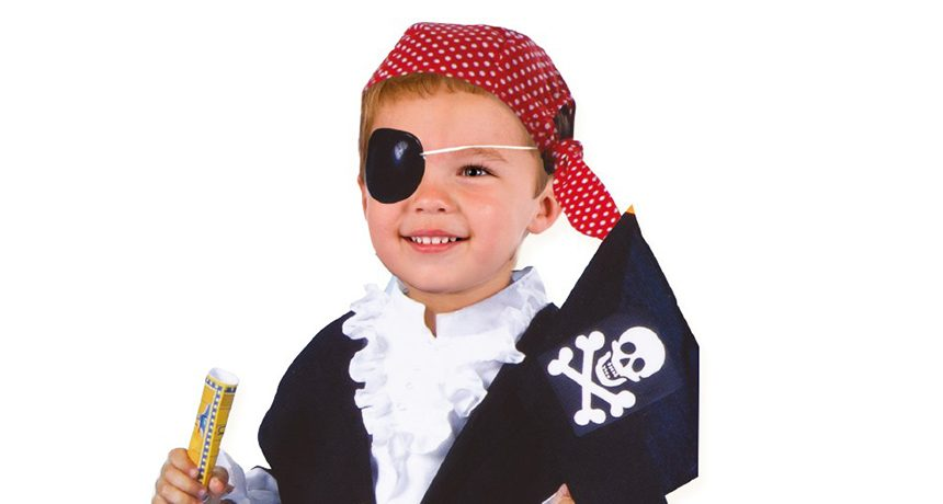 Badakizu zergatik erabiltzen zituzten begi-adabakiak piratek?
