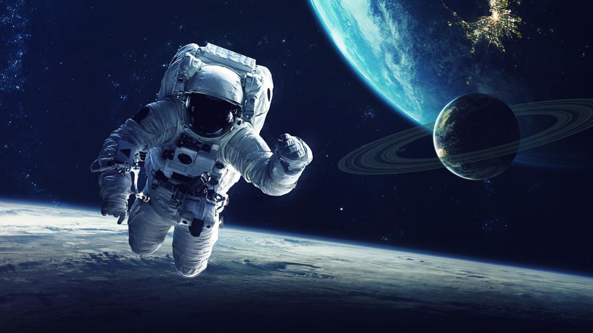 Zergatik flotatzen dute kanpo-espazioan astronautek?